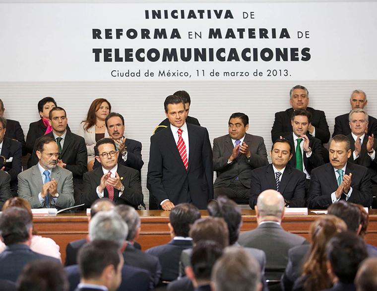 Reforma en Telecomunicaciones