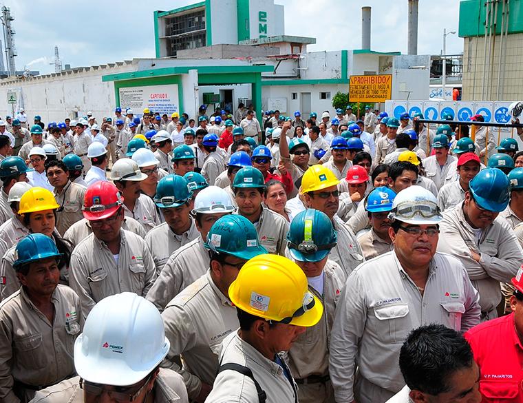 PEMEX y STPRM inician represión contra disidencia petrolera en el sur
